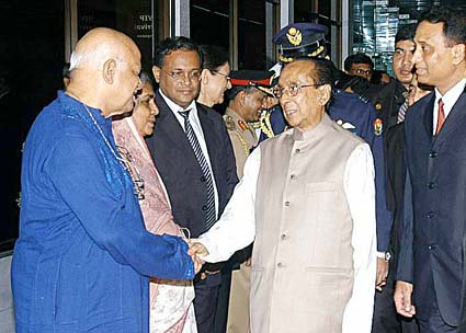 Photo of President Rahman via Office of the Bangladeshi