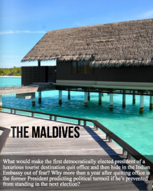 Maldvies via Sarah Ackerman Maldives via Sarah Ackerman