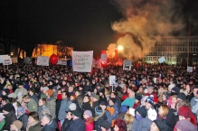 Photo of Slovenia Protests via Jumpin Jack Feb 2013