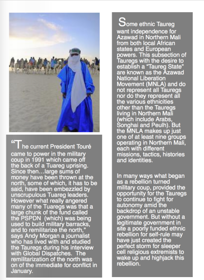 Tuaregs at Desert festival, Timbuktu, Mali by Gina Gleeson